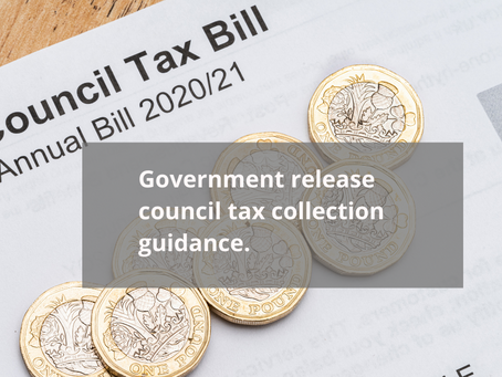 Government release council tax collection guidance.