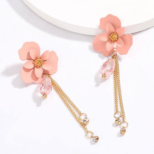 Pink Floral Drops