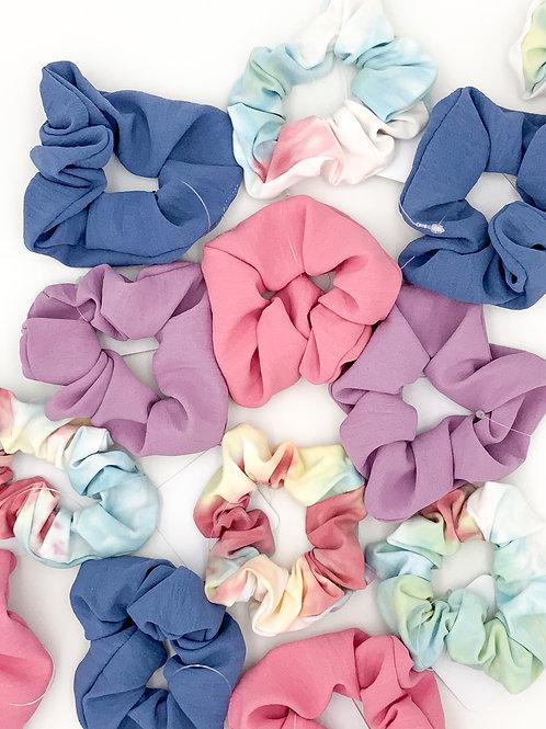 Spring Scrunchies