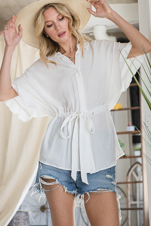 Easy Flow Button Down
