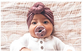 Sweetie soother pacifier baby gift