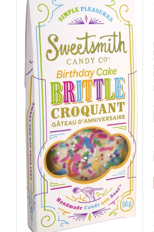 Birthday Cake Brittle by Sweetsmith Candy Co