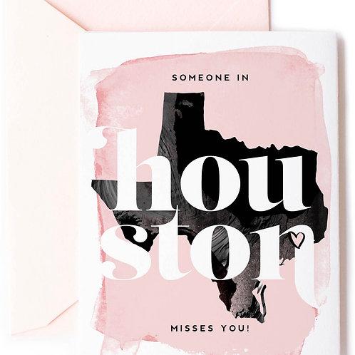Houston Valentines Card