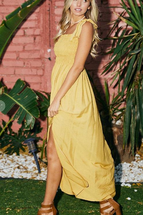 Sunflower Maxi Dress