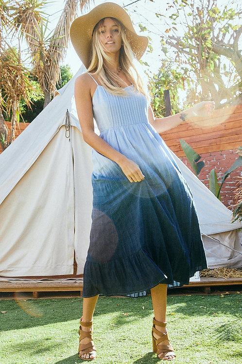 Dip Dyed Ombré Dress
