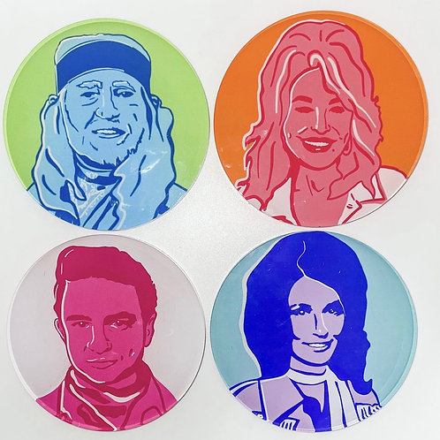 TART by Taylor Country Legends Coasters
