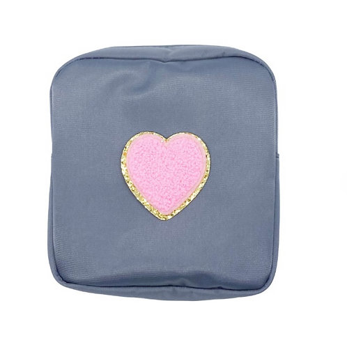 Nylon mini HEART Pouch