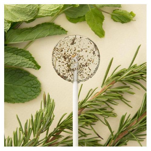 Amborella Organics Seed-Bearing Lollipop: Rosemary Mint