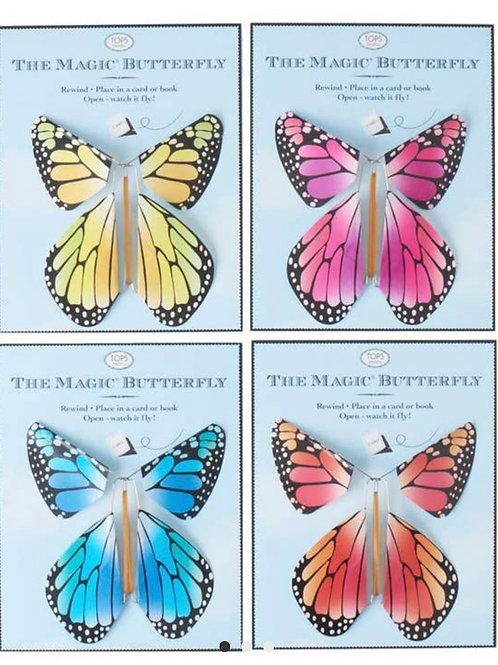 Magic Flying Rainbow Butterfly