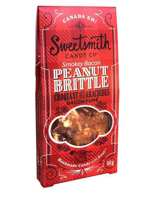 Smokey Bacon Peanut Brittle by Sweetsmith Candy Co