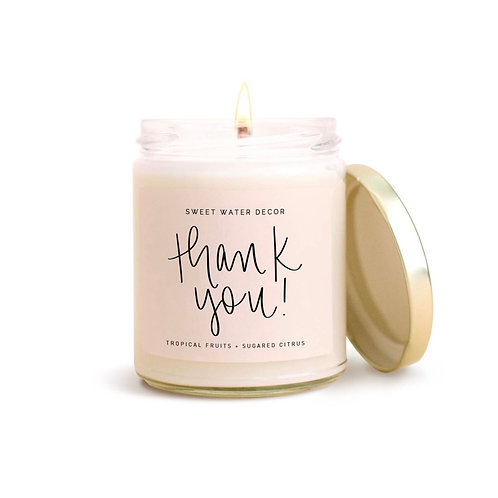 Thank you Soy Candle