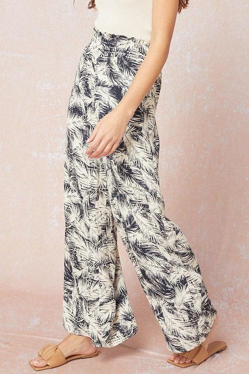 High Waisted Tropical Pant