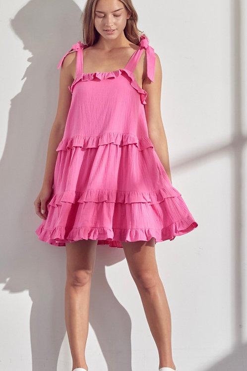 Bubble Gum Twirl Dress