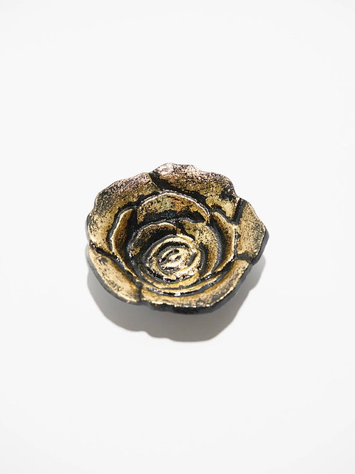 Golden Rose Smudge/Decor Bowl