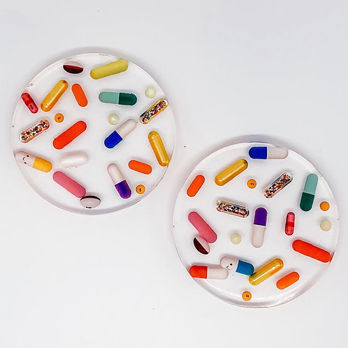 TART by Taylor Classic Pill Coasters