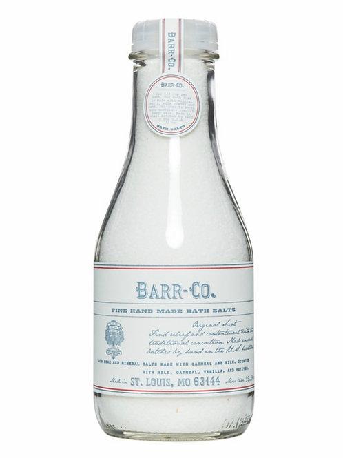 Barr-Co Bath Salt