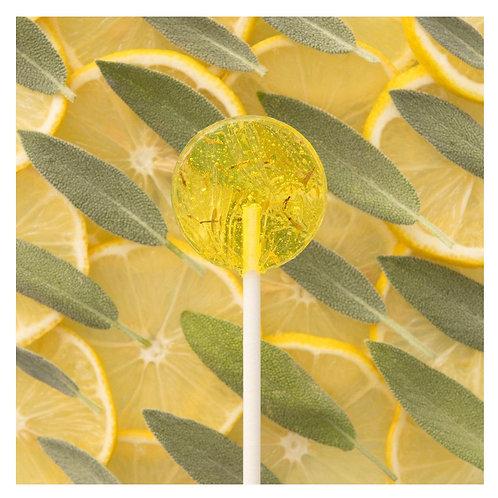 Amborella Organics Seed-Bearing Lollipop: Lemon and Thyme