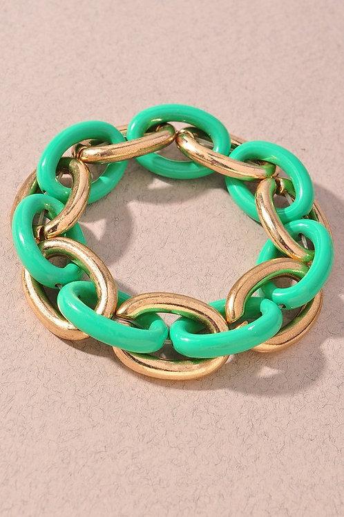 Color Chain Bracelets