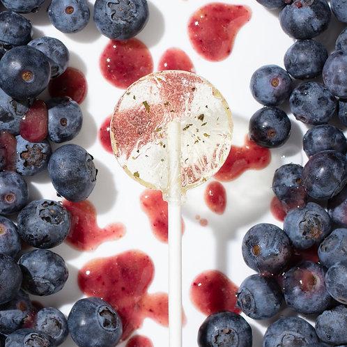 Amborella Organics Seed-Bearing Lollipop: Blueberry & Nettle