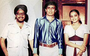 From left to right: Singer Jaspal Singh, Mangesh, and actress Tamanaa.
