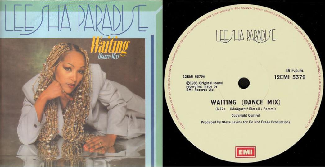 Collaboration with singer Leesha Paradise - 'Waiting' 1983.