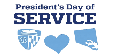 JHU President's Day of Service Logo tran