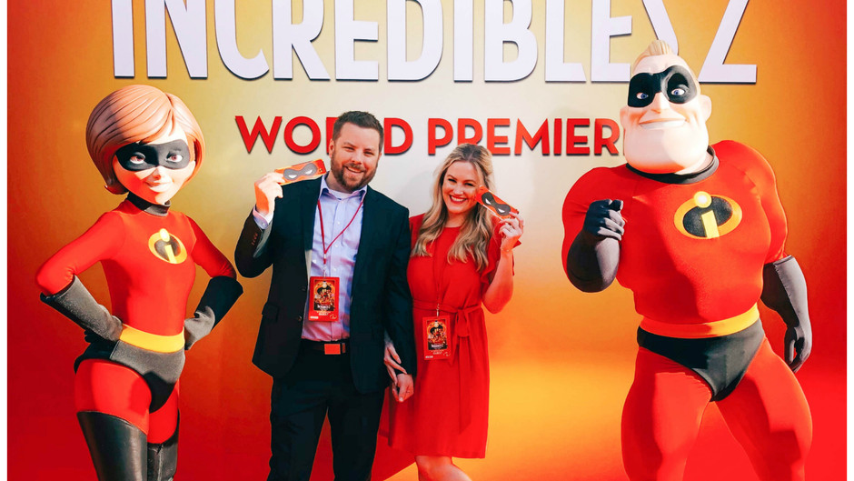 Unmasking Our Incredible: The Incredibles 2 Premiere