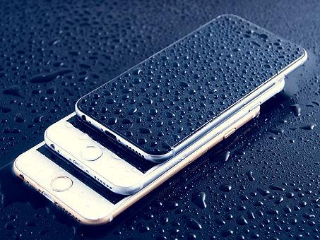 repairing damaged phone dropped in water