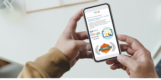 mobile showing mobservy service reviews