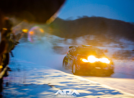 Sno*Drift Conditions Create Challenging Rally