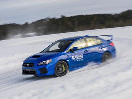 American Rally Association Drivers Headline Subaru Winter Experience