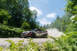 Travis Pastrana and Greg Dorman (Subaru Rally Team USA)