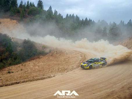 Patrik Sandell leads Idaho Rally International After Day 1