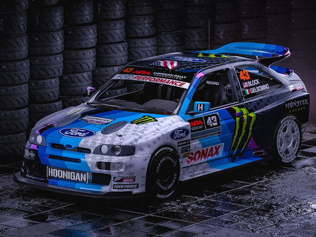 Ken Block reveals new Ford Escort Cosworth for 2019