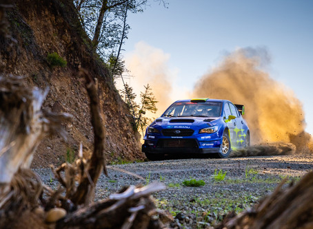 DirtFish Olympus Rally: Oliver Solberg and Denis Giraudet Take Maiden ARA Win