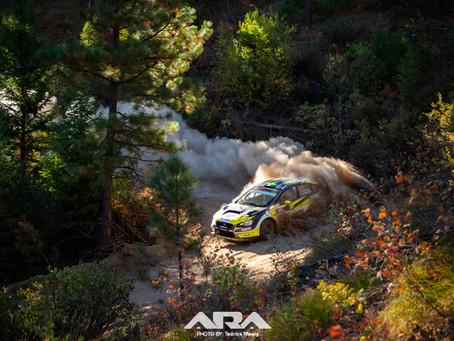 Patrik Sandell and Per Almkvist Win Idaho Rally International after Dusty Battle