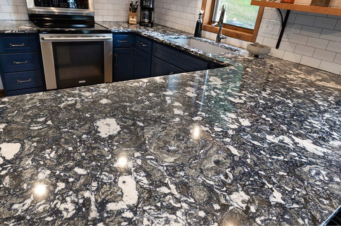 Kitchen Remodel - Marble Countertop
