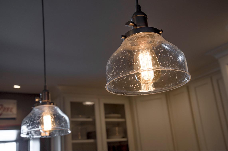 Kitchen Remodel  |  Pendant Lights