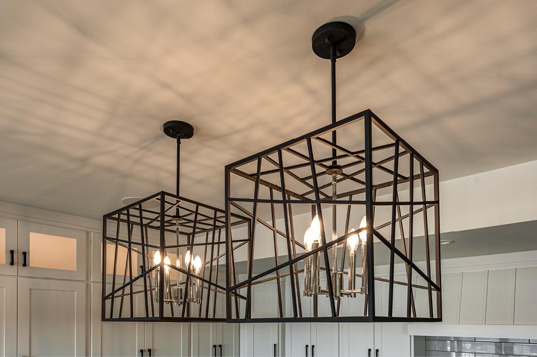 New Construction  |  Condo  |  Kitchen  |  Pendant Light Detail
