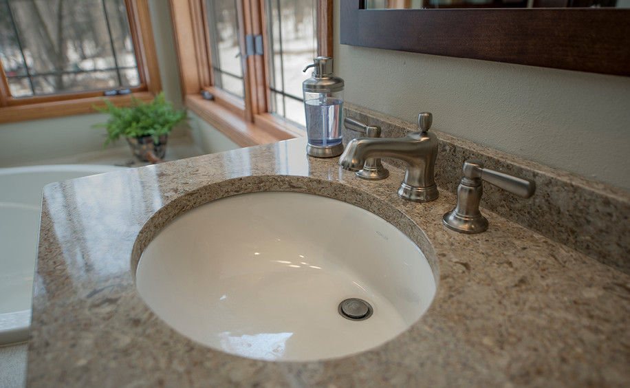 Bathroom Remodel     Sink Detail