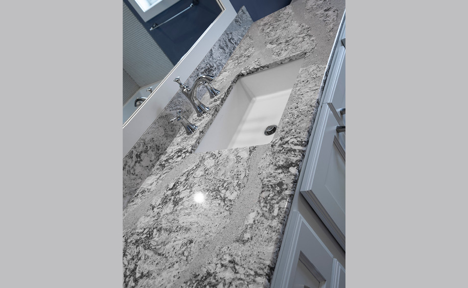 New Construction     Bathroom Counter Detail