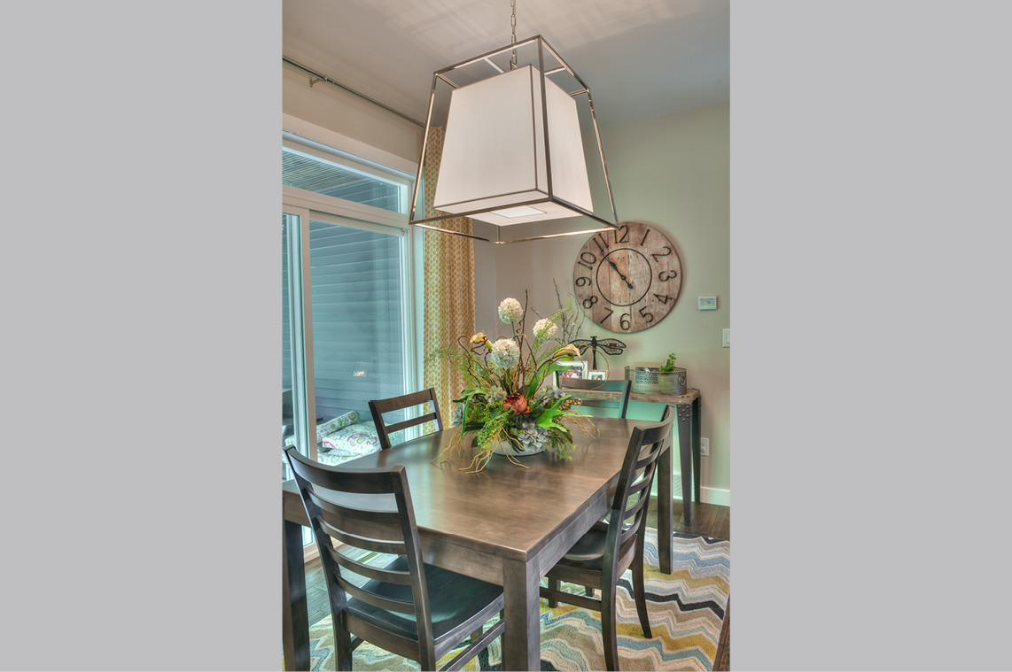 New Construction  |  Dining Area