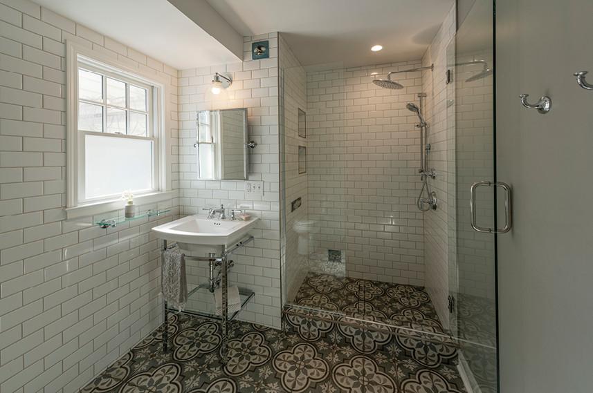 Home Remodel  |  Tile bathroom