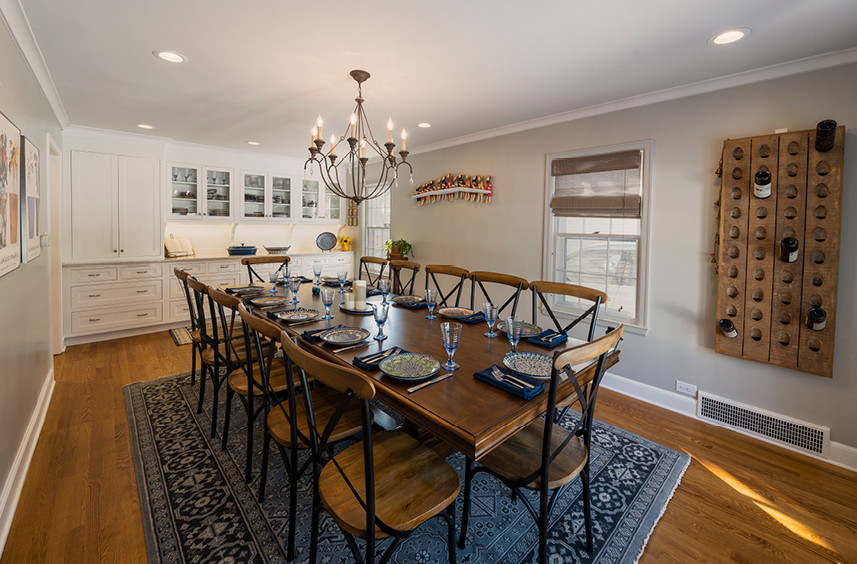 Home Remodel  |  Dining