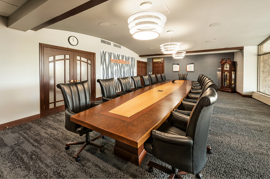 Incredible Bank - Wausau Branch Remodel  |  Conference Room