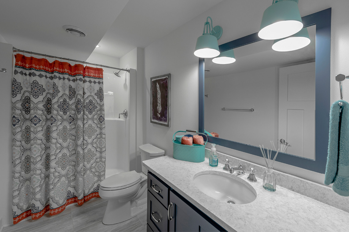 New Construction  |  Bathroom