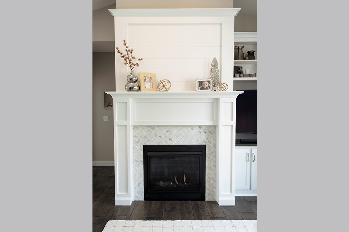 New Construction  |  Fireplace