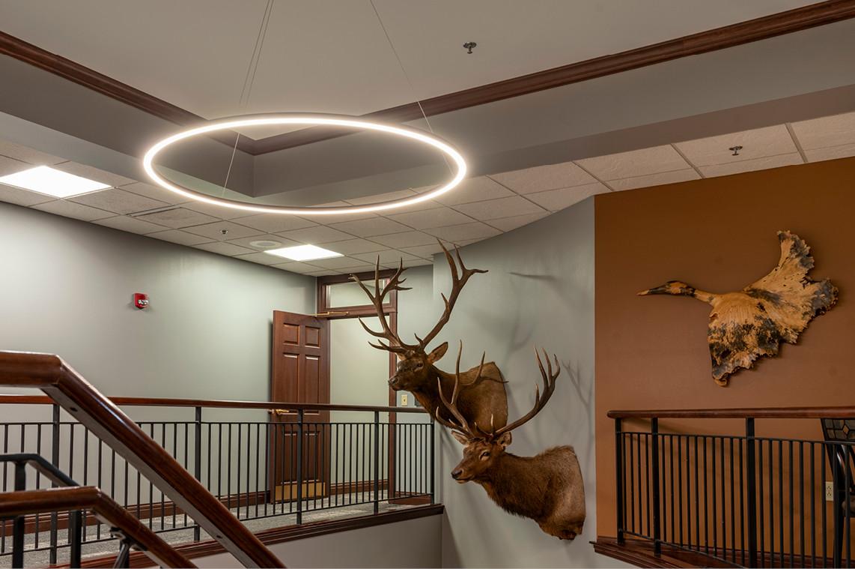 Incredible Bank -Wausau Branch Remodel     Pendant Light