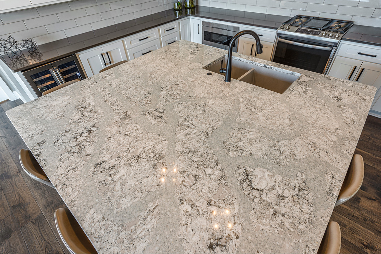 New Construction  |  Condo  |  Kitchen  |  Quartz