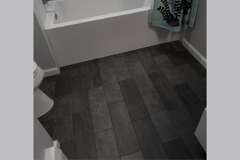 Bathroom Remodel  |  Flooring Detail